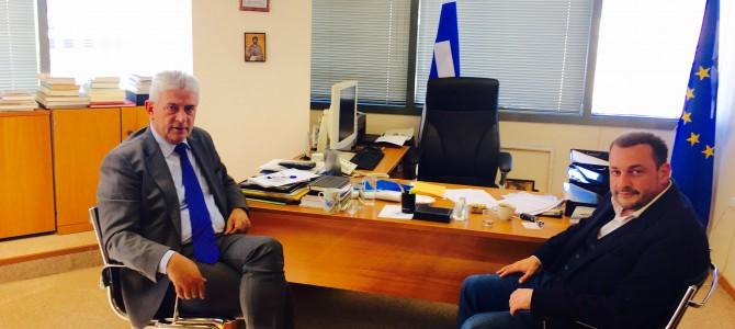 Επίσκεψη στην Γ.Γ. Απόδημου Ελληνισμού του ΥΠ.ΕΞ.
