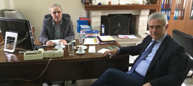 Συνάντηση του Αν. Δημοσχάκη με τον Πρόεδρο του ΚΑΠΕ