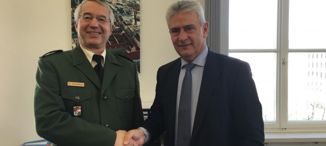 Συνάντηση με τον Αρχηγό της Αστυνομίας της Βαυαρίας