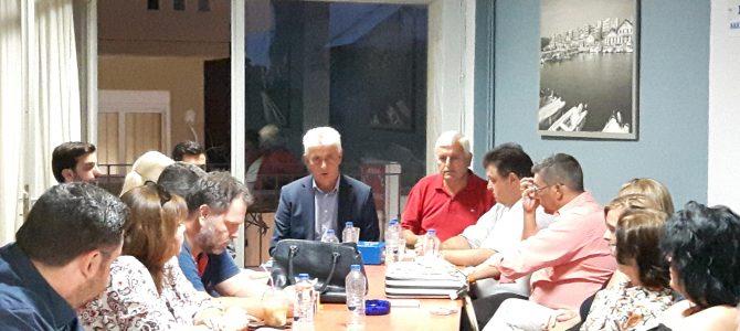 Κοινό πλαίσιο δράσεων και παρεμβάσεων για τον Έβρο αποφασίστηκε στη ΝΟΔΕ