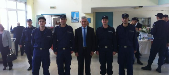 Δήλωση στην ορκωμοσία της νέας τάξης Δοκίμων Αστυφυλάκων στη Σχολή του Διδυμοτείχου