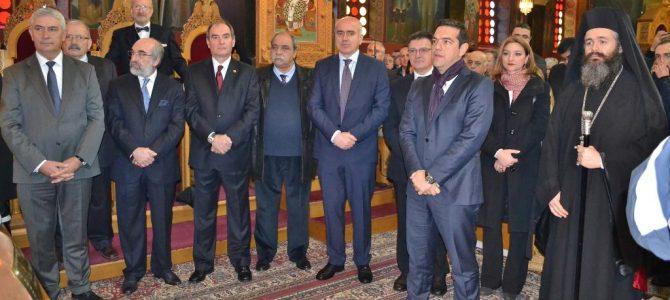 Παρέμβαση για τα προβλήματα του Έβρου και της Θράκης σε γεύμα εργασίας με τον Πρωθυπουργό