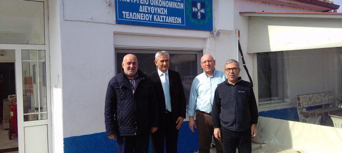 Συμβολική επίσκεψη στο Τελωνείο Καστανιών και οδοιπορικό στήριξης των κατοίκων του Έβρου