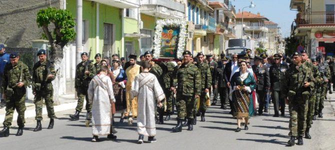 Εορτασμός Αγ. Γεωργίου στο Σουφλί και στην 50η Μ/Κ Ταξιαρχία