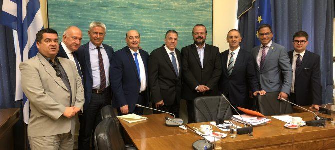 Ξεκάθαρη η θέση της Ν Δ, δεν πρόκειται να κυρώσει τη συμφωνία των Πρεσπών. Δέσμευσή μας η ψήφος των Ελλήνων του Εξωτερικού. Η Πα.Δ.Ε.Ε μπορεί να κρατήσει ζωντανό το αίτημα για την αποφυλάκιση των 2 στρατιωτικών μας