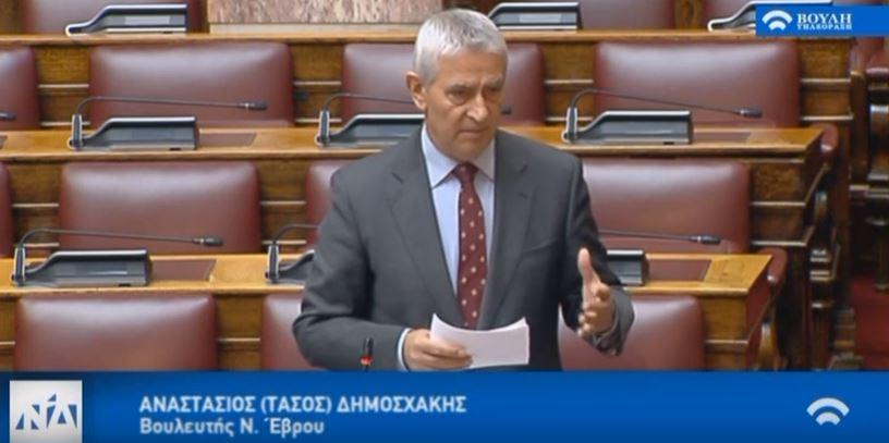 Ο Υπουργός Παιδείας αφού «καθηγητοκλέπτει» το ΔΠΘ, το κατηγορεί και για την απώλεια θέσης ΔΕΠ στο Τμήμα Ιατρικής! – Συζήτηση Επίκαιρης Ερώτησης