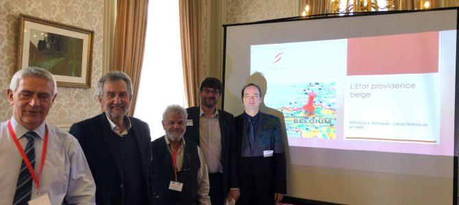 Εποικοδομητικές και… διδακτικές συναντήσεις κι επαφές της ελληνικής Κοινοβουλευτικής Ομάδας Φιλίας Ελλάδας – Βελγίου στις Βρυξέλλες, στην «καρδιά» της Ε.Ε.