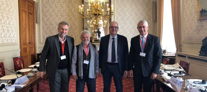 Σύσκεψη στις Βρυξέλλες με τον Πρόεδρο και μέλη της Επιτροπής Εξ. Υποθέσεων του Βελγικού Κοινοβουλίου! Θέματα: Συμφωνία Πρεσπών, Ελληνοτουρκικά & Βαλκανική Χερσόνησος  μεταξύ άλλων στην ατζέντα των συζητήσεων