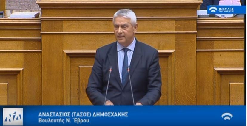 Η Κυβέρνηση αλλοτριώνει το στράτευμα και αδιαφορεί για την αναδιοργάνωση και τον εκσυγχρονισμό του ! – Ομιλία στην Ολομέλεια της Βουλής για το Σ/Ν του ΥΠΕΘΑ